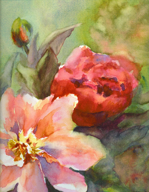 Japanese Tree Peonies I